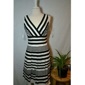 USED White House Black Market Fit and Flare Dress